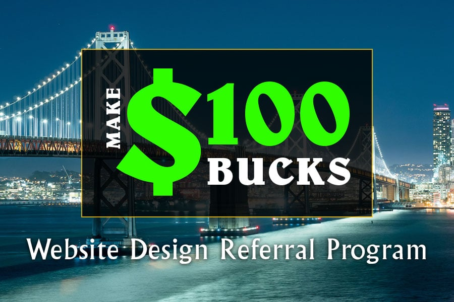 website design referral affiliate program